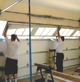 Garage door repair, installation services